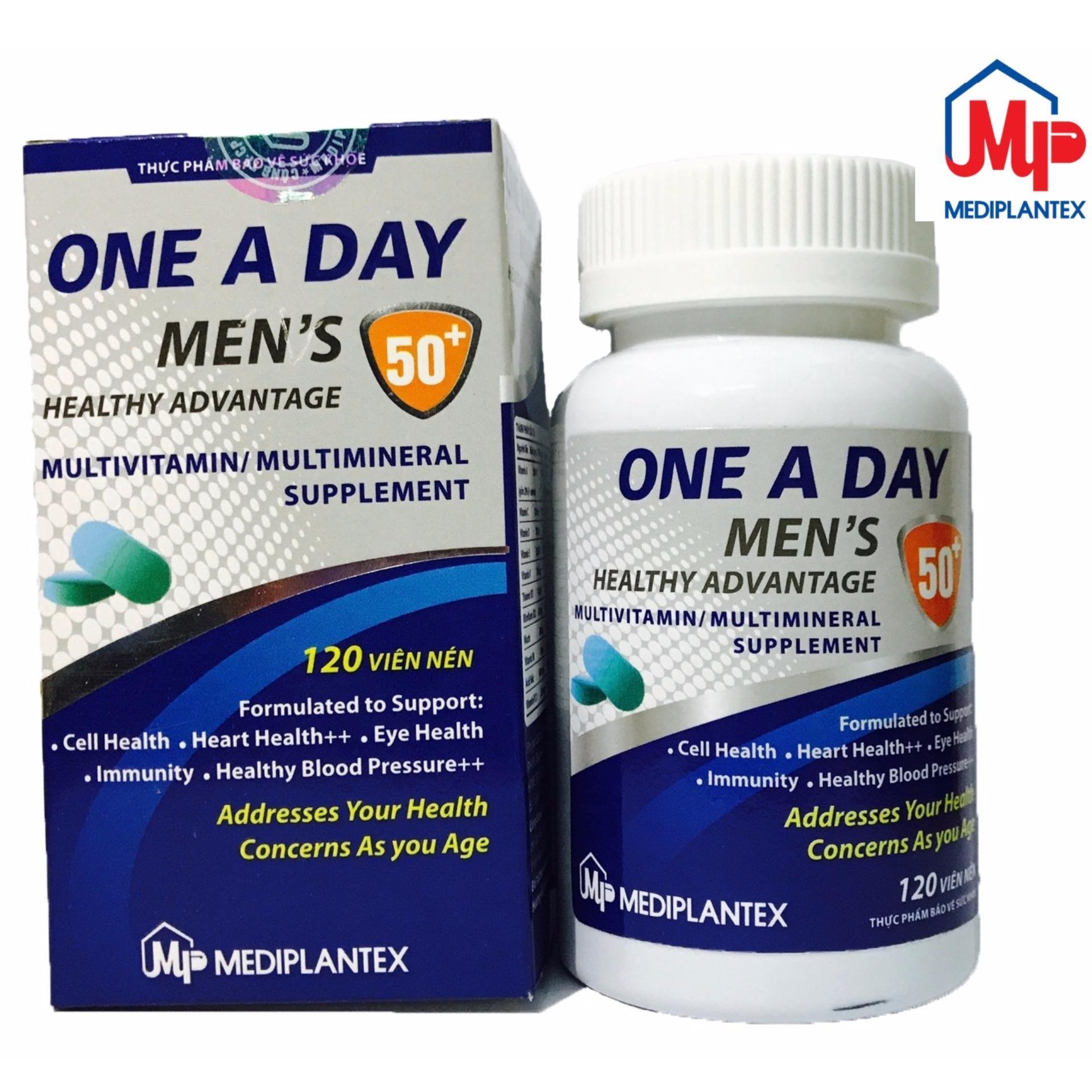 Viên uống bổ xung vitamin tăng cường sức khỏe Nam Giới ONE A DAY MEN