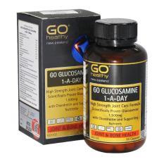 Viên uống giảm đau nhứt, bồi bổ xương khớp – Go Glucosamine 1 A Day 1500mg- Go Healthy New Zealand (Hộp 60 viên)