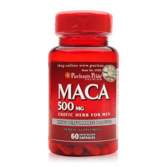 Giá bán Viên uống tăng cường sinh lực Puritan's Pride Primium Maca Exotic Herb For Men 500mg 60 viên  219.000 đ
