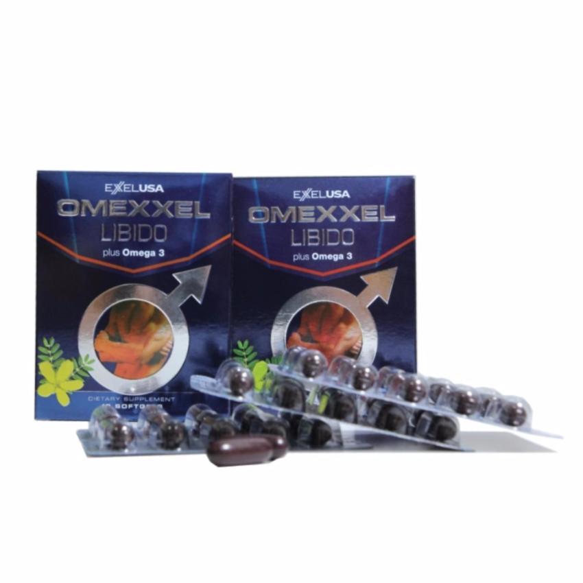 Viên uống tăng cường sinh lý nam giới Omexxel 30 viên + Tặng 1 lọ 30 viên Omexxel Ali trị...