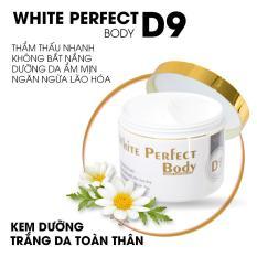 White Perfect Body D9 Kem Dưỡng Trắng Da Toàn Thân white perfect d9