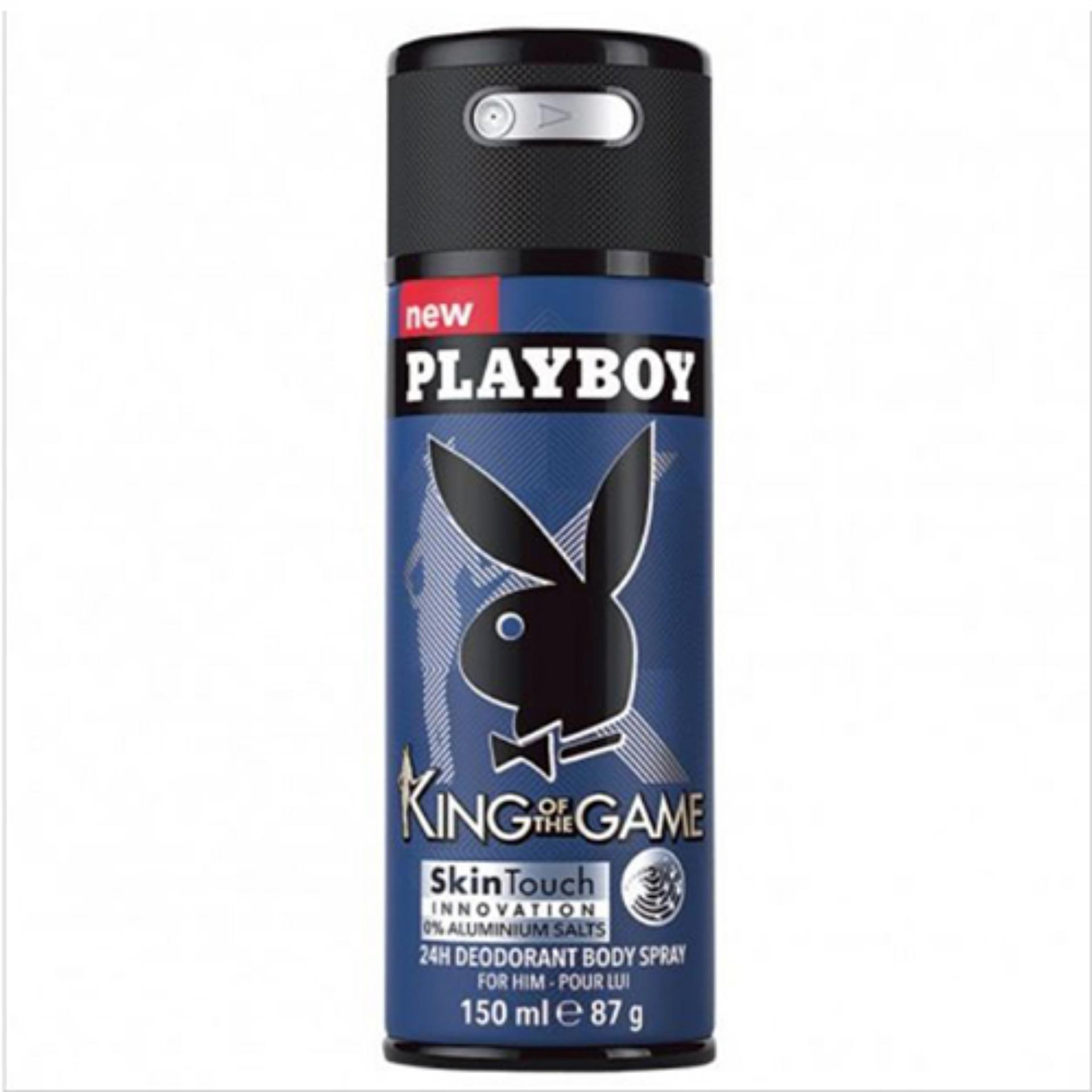 Báo Giá Xịt Body Nam Playboy King Of The Game 150ml