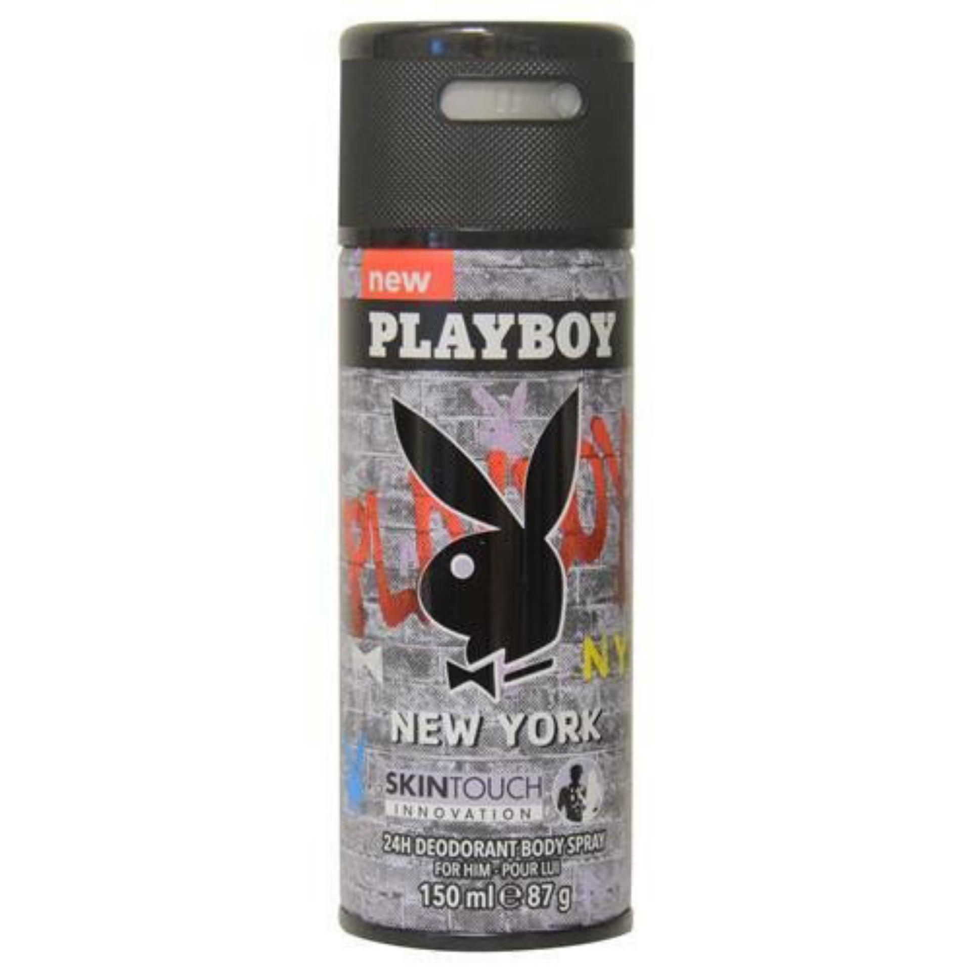 Giá Sốc Xịt Body Nam Playboy New York 150ml