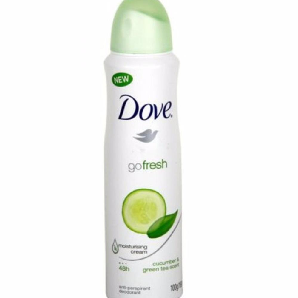 Xịt khử mùi Dove Go Fresh 150ml Hương Dưa Leo