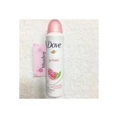 Xịt Khử Mùi Dove Go Fresh 48h 150ml