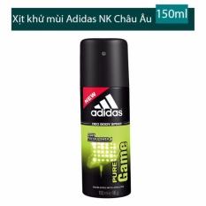 Xịt khử mùi toàn thân cho nam Adidas Pure Game - 150 ml