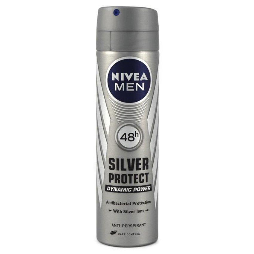 Xịt ngăn mùi NIVEA Men Silver Protect 150ml