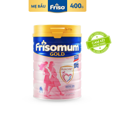 [Freeship] Sữa bột Frisomum Gold hương vani 400g – Cam kết HSD ít nhất 10 tháng – DualCare+TM Dinh Dưỡng cho Mẹ và Thai Kì