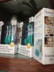 Bộ chăm sóc răng miệng 3 giai đoạn Summer infant, Mỹ
