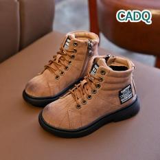 Giày boot trẻ em bốt cao cổ cá tính phong cách cho bé trai và bé gái