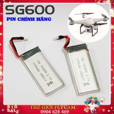 Bộ 02 Pin FLYCAM SG600 3.7v 750mAh, Pin flycam SG600