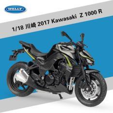 Xe Mô Hình Kawasaki Z1000 Welly tỉ lệ 1/18