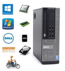 Máy tính bàn Dell Optiplex 9020 sff, CPU Core i5 4570, Ram 4G, Ổ cứng SSD 240G, Hàng nhập khẩu, chưa bao gồm phím chuột và màn hình
