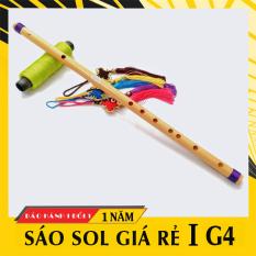 Sáo nứa tone SOL trầm HL59T, sáo trúc G4 giá rẻ cho người mới tập
