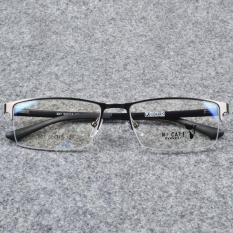 Gọng kính cận nửa viền khung kim loại. cho cả Nam và Nữ