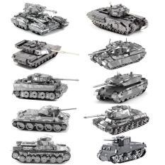 Mô hình 3D bằng thép tự ráp xe tank các loại