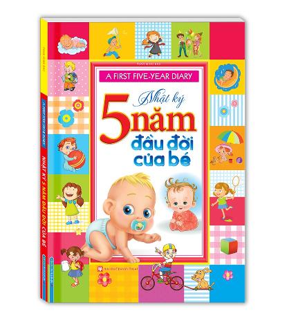 Sách – A first five-year diary – Nhật Ký 5 năm đầu đời của bé