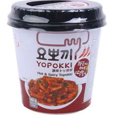 Bánh gạo Hàn Quốc Topokki Yopokki Siêu cay 140gr