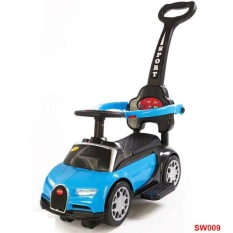Xe Ô tô chòi chân kết hợp xe lắc và xe đẩy có nhạc cho bé SW009 – xe lắc, xe thăng bằng, xe tập đi, do choi tre em