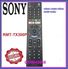 Điều Khiển Tivi Sony RMT – TX300P Cho Mọi Dòng TV Sony Bền Nhạy Phím Êm