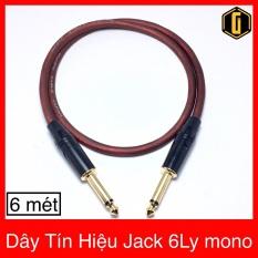 Dây Tín Hiệu Jack 6Ly Dài 6met | Dây Jack 6 Ly | Dây Jack 2 Dầu 6 Ly | Dây Jack Guitar | Dây Jack 6 Ly 5m | Dây Jack Cắm Đàn | Dây Rắc 6 Ly | Dây Cắm Đàn Organ | Day Rac 6Ly | Day Rack 6ly |