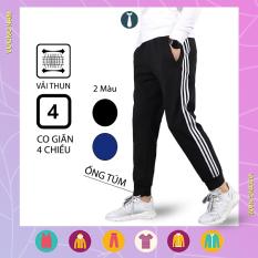 Quần jogger nam đẹp 3 sọc thể thao cao cấp vải thun co giãn 4 chiều