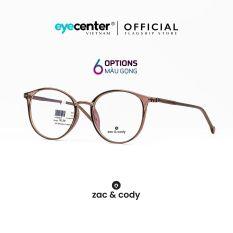 Gọng kính nữ chính hãng ZAC & CODY C09 lõi thép chống gãy cao cấp Hàn Quốc nhập khẩu by Eye Center Vietnam