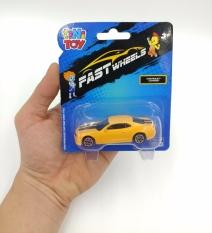 Đồ Chơi Xe Tốc Độ FastWheels 3 Inch – 342000S – Chevrolet Camaro – Màu Vàng