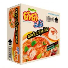 Thùng 30 Gói Mì Tôm Chua Cay Lẩu Thái Yum Yum Tom Yum Thái Lan