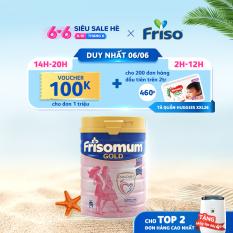 [Giảm 6% tối đa 166k+Tặng Tã Quần Huggies Nature Made XXL 26] Sữa bột Frisomum Gold hương vani 400g