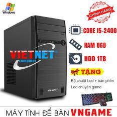 Máy tính để bàn intel core i5 2400 RAM 8GB HDD 1TB VietNet