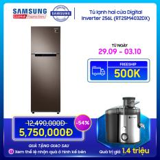 Tủ lạnh hai cửa Samsung 264L với công nghệ Digital Inverter tiết kiệm điện năng – RT25M4032DX
