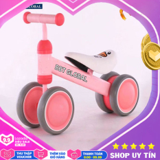 Xe chòi chân khung kim loại cho bé Q4 – xe tập đi, xe thăng bằng, đồ chơi trẻ em