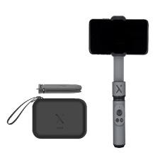Gimbal cầm tay chống rung cho điện thoại Zhiyun Smooth X Combo – Màu xám đen