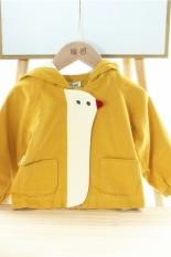 ❤️ áo tết cho bé ❤️ Áo khoác gió cho bé gái 2 lớp bông có mũ trùm đầu GÀ CON cho bé gái từ 1 đến 5 tuổi giữ ấm tránh rét