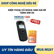 Điện thoại cổ nokia 1280 giá rẻ tặng sim 3g