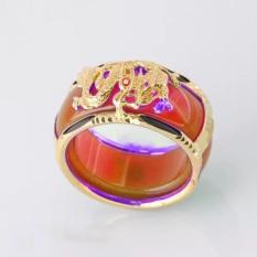 nhẫn nam đẹp khắc hình rồng nổi bật không phai không bay màu