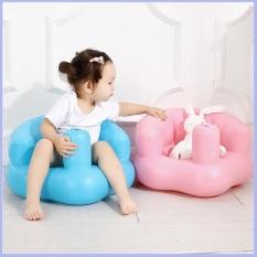 Ghế hơi tập ngồi cho bé sơ sinh chống gù lưng chất liệu và thiết kế thông minh đảm bảo an toàn cho trẻ sử dụng có độ bền cao cam kết như hình