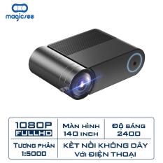 Máy chiếu YG550 Plus – Full HD1080 – Hỗ trợ kết nối không dây với điện thoại và các thiết bị khác – Hiển thị 16 triệu màu – Có loa tích hợp