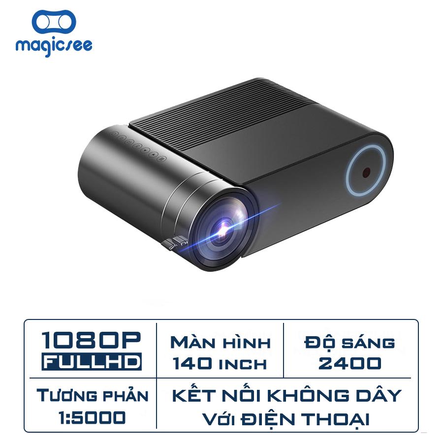 Máy chiếu YG550 Plus - Full HD1080 - Hỗ trợ kết nối không dây với điện thoại và các thiết...