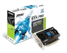 VGA – Card Màn Hình MSI GeForce GTX 750 OC 2GB GDDR5