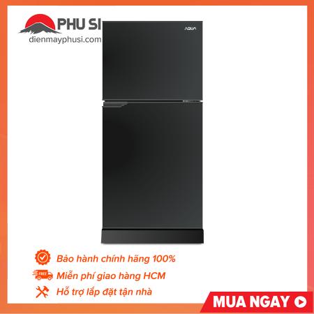 Tủ Lạnh AQUA 143 Lít AQR-T150FA (BS) – Dung tích tổng: 143 lít, Không đóng tuyết