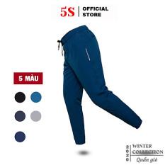 Quần Jogger Nam 5S (5 Màu) Dáng Thể Thao, Vải Gió Thoáng Mát, Thấm Hút Mồ Hôi, Co Giãn Cực Tốt (QGD20003-03)