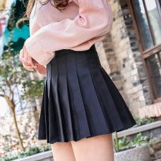Chân váy Tennis Trơn Đen Siêu Hot