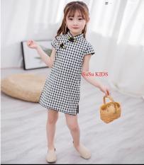 [Kho hàng QC] Váy cách tân sườn xám, áo dài cách tân siêu xinh cho bé gái, váy đầm bé gái, áo dài cách tân cho bé