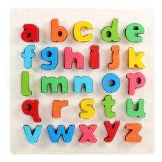 Bảng chữ cái tiếng Anh bằng gỗ, bảng học chữ cái, chữ số