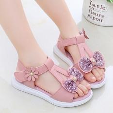 Dép sandal bé gái công chúa dành cho bé từ 3 -13 tuổi – SD53H