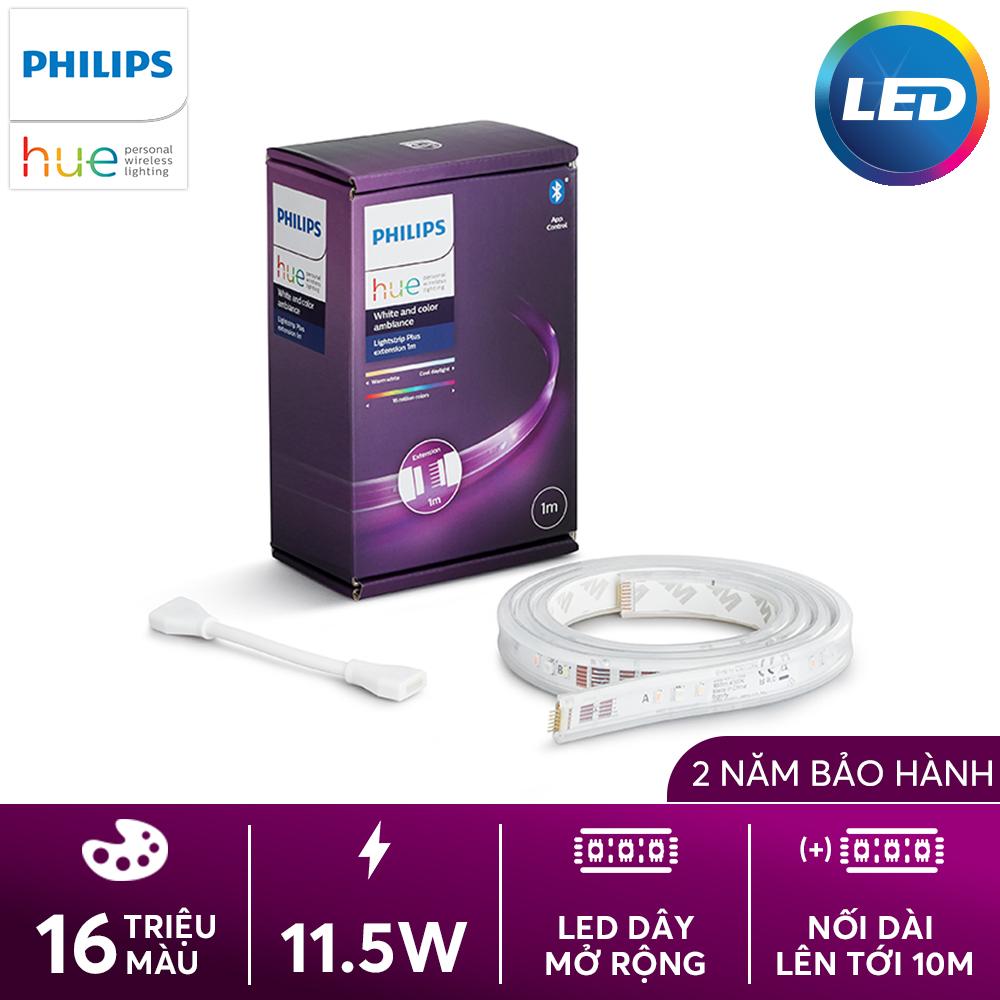 Dây LED Philips Hue Lightstrip bộ mở rộng 1m - Đồng bộ ánh sáng theo nhạc và TV