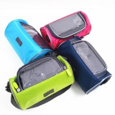 Túi treo ghi đông xe đạp chống nước có cửa cảm ứng cho điện thoại kiêm túi du lịch Travel Season nhiều màu TOPHA TP 1079