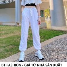 Quần Thể Thao Jogger Nữ Thời Trang Hot 2020 BT Fashion (SPUN TT02) + Hình thật, Video + Chọn bên dưới để mua thêm Áo